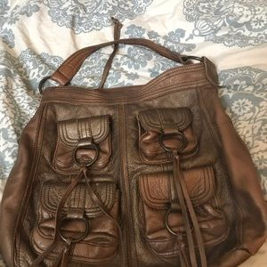 Large Banana Republic Leather Bag